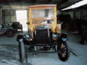 Chevrolet 1924 - Madeira