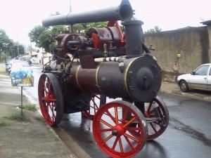 Maquina a Vapor Década 1920